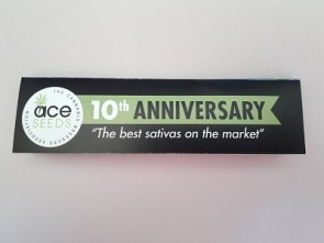 Papel de fumar ACE Seeds 10º aniversario King Size