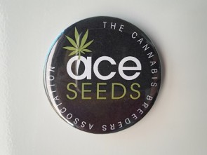 Imán ACE Seeds con abridor de botellas